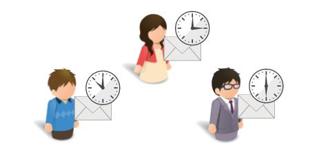 配信時刻最適化